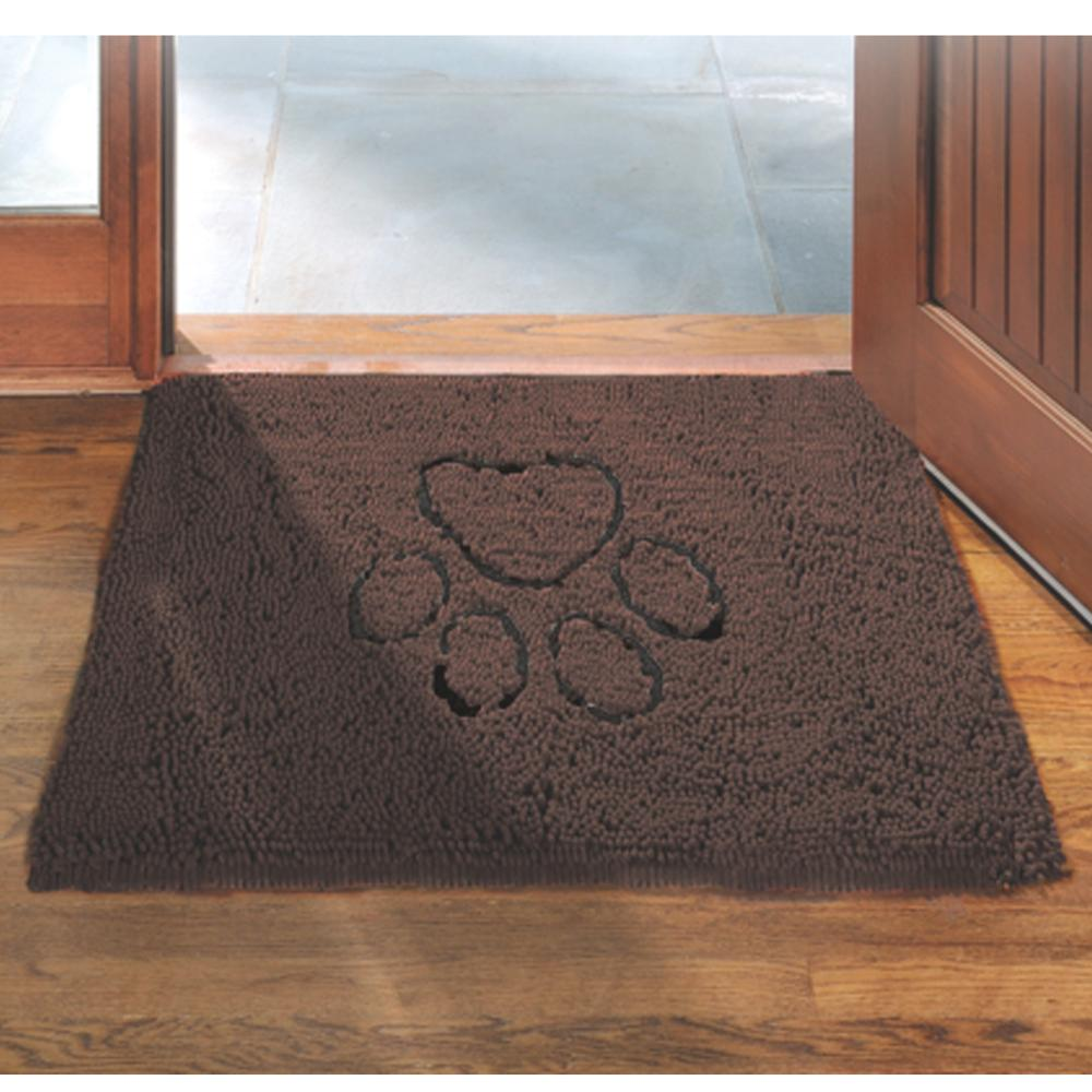 Dog Gone Smart Dirty Dog Doormat Brown Large