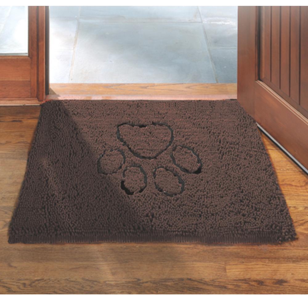 Dog Gone Smart Dirty Dog Doormat Brown Medium