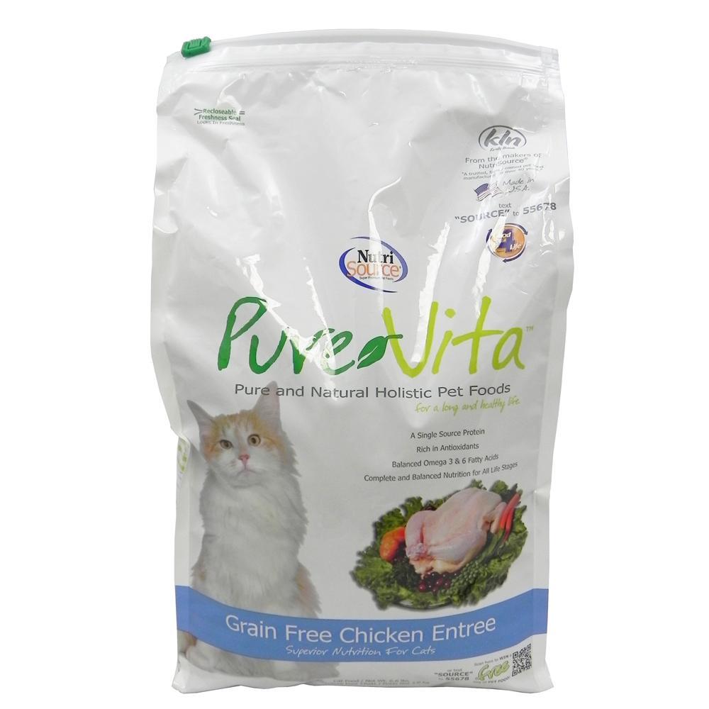 PureVita NutriSource Grain-Free Chicken Cat Food 6.6lb