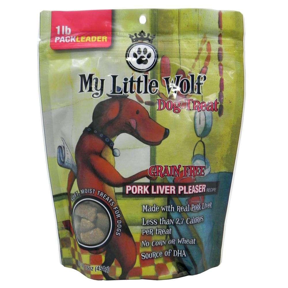 My Little Wolf Dog Treat Pork Recipe 16 oz