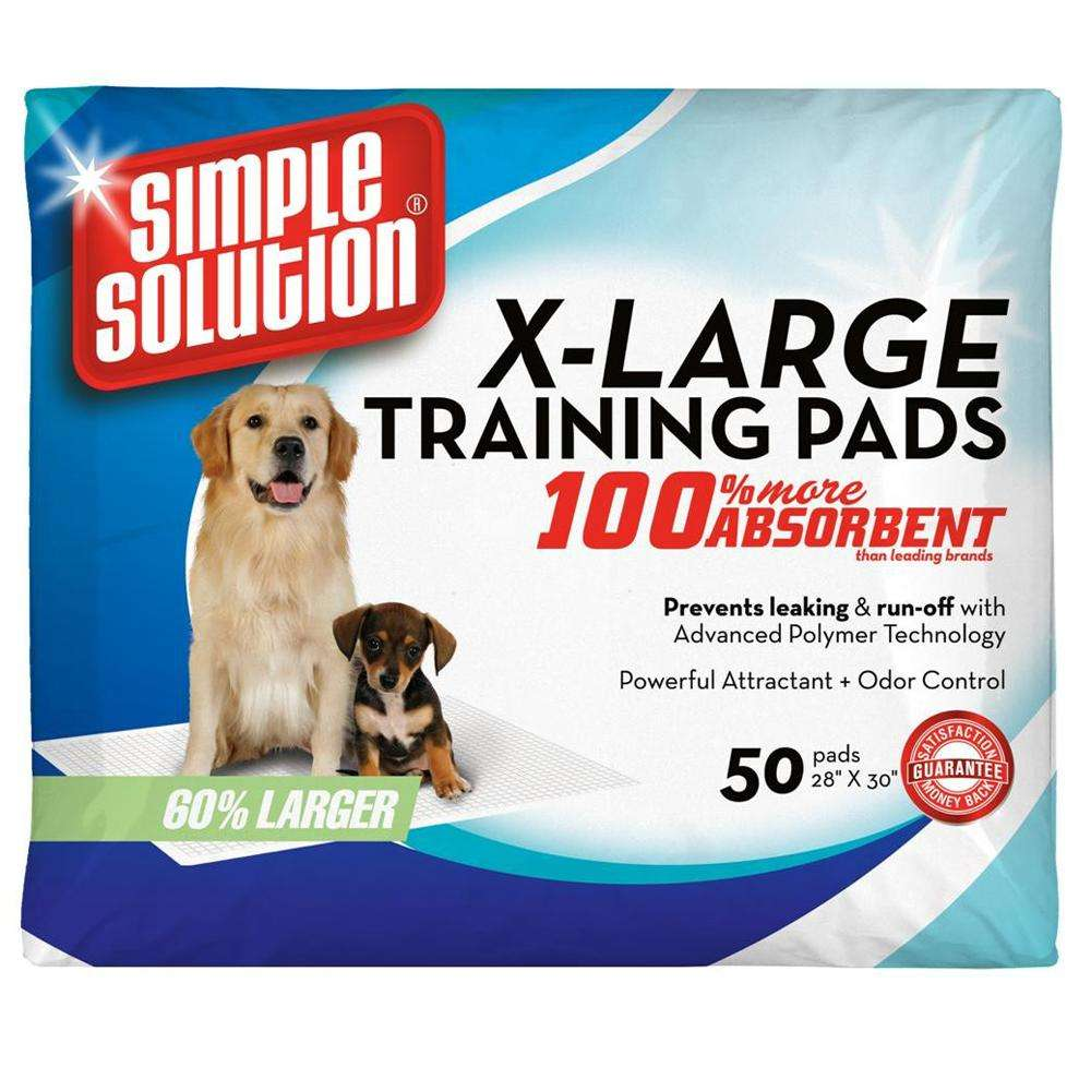 Simple Solution X-Large Puppy Training Pads 50 Count