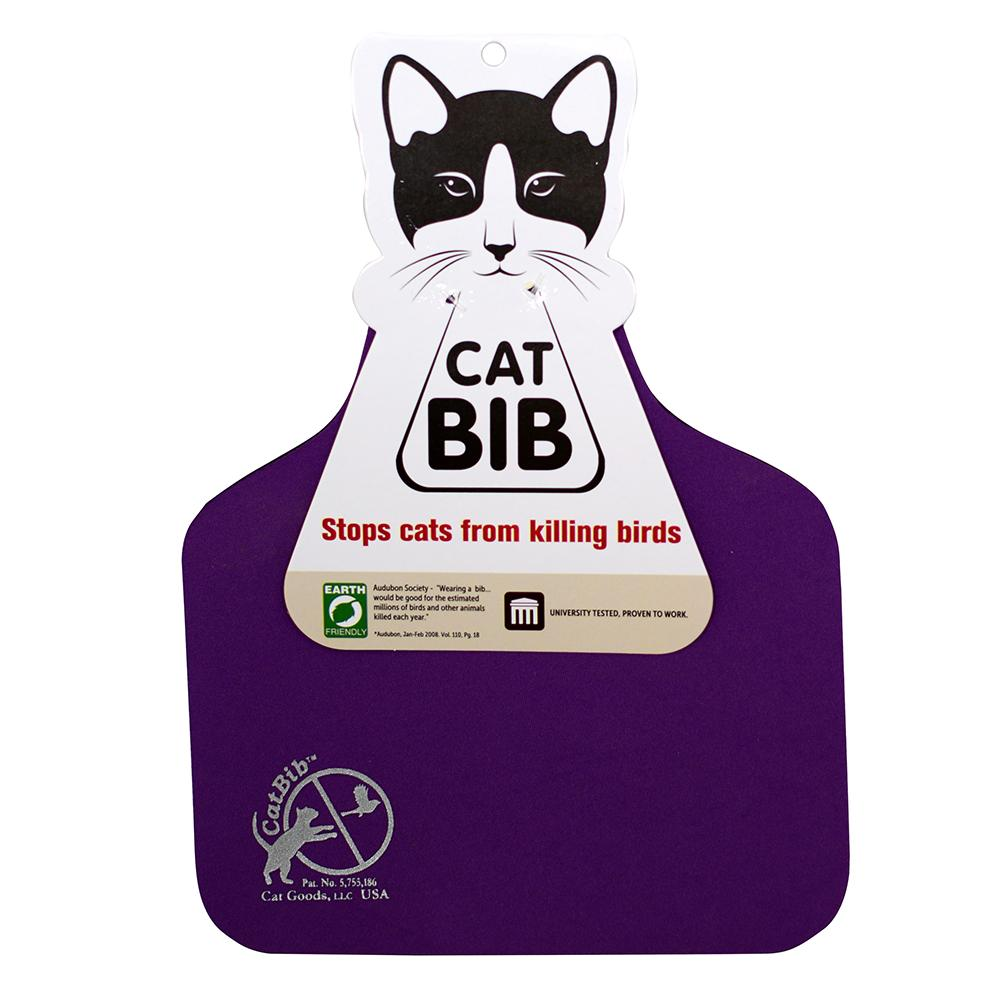 CatBib WildBird Saver Purple Big