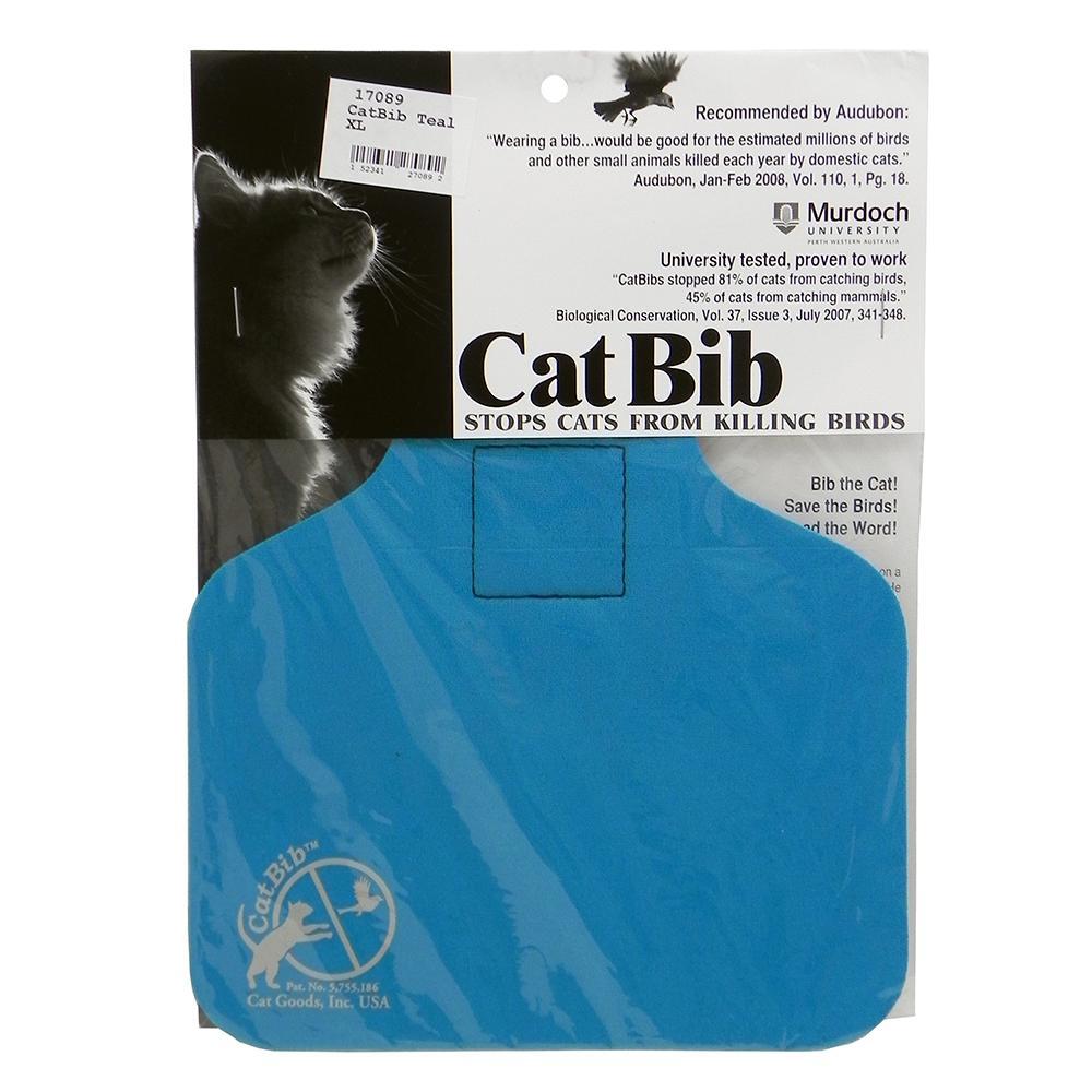 CatBib WildBird Saver Teal Big
