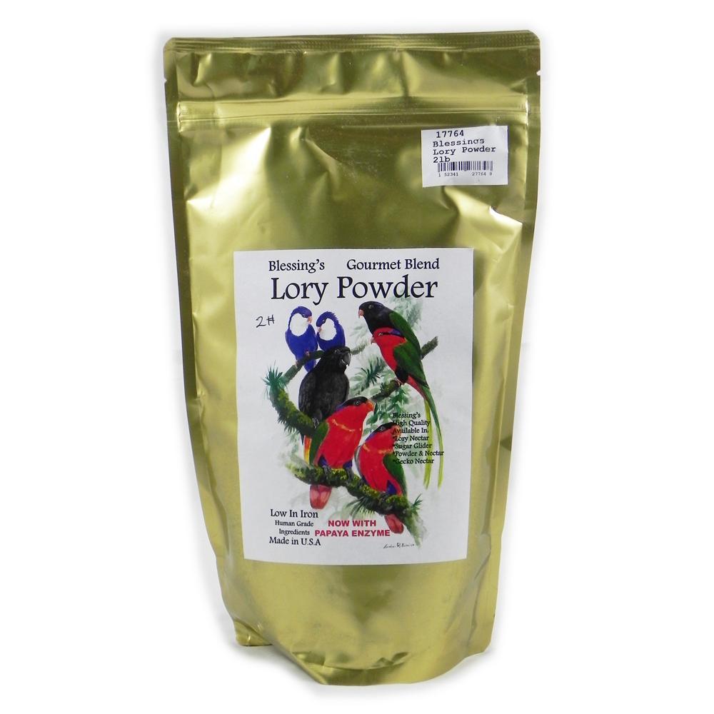 Blessing's Gourmet Lory Powder Dry Lorikeet Food 2lb