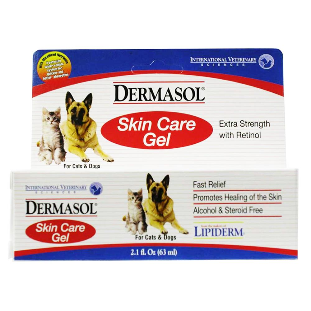 Dermasol Pet Skin Relief Gel 2.1 ounce