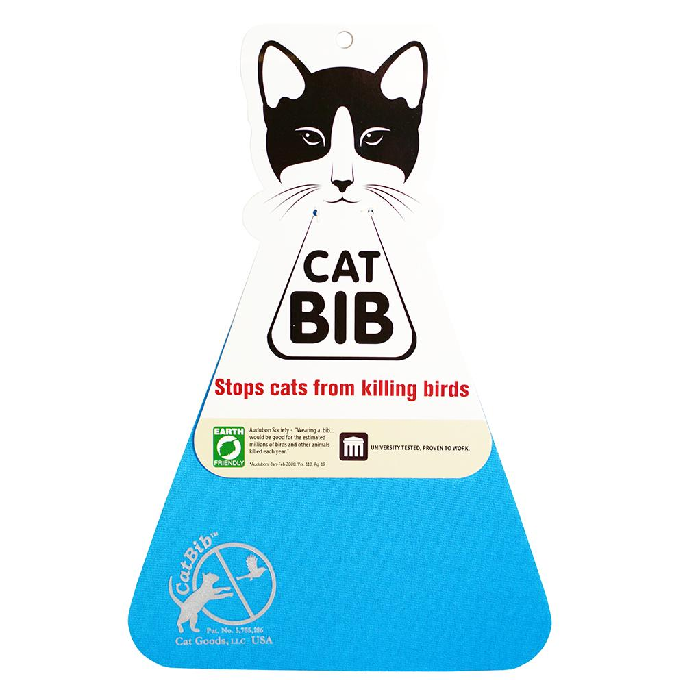 CatBib WildBird Saver Blue Small