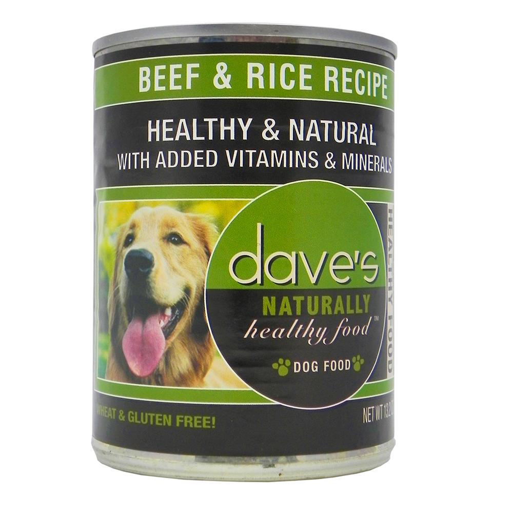 Dave S Naturally Beef And Rice