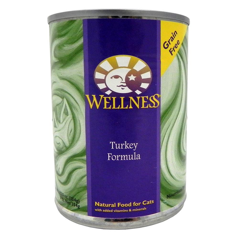 Wellness Cat Turkey 13oz each