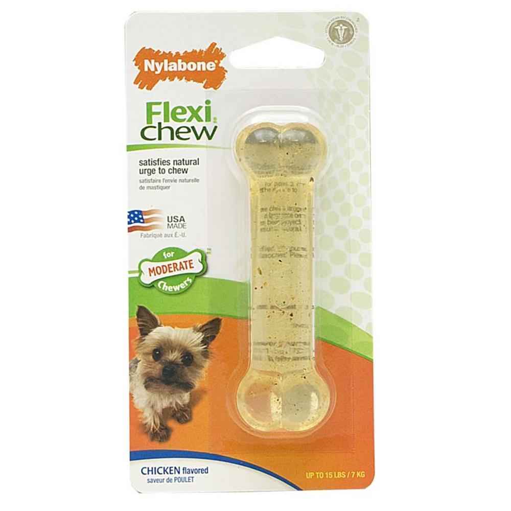 Nylabone Flexible Petite Size Dog Toy