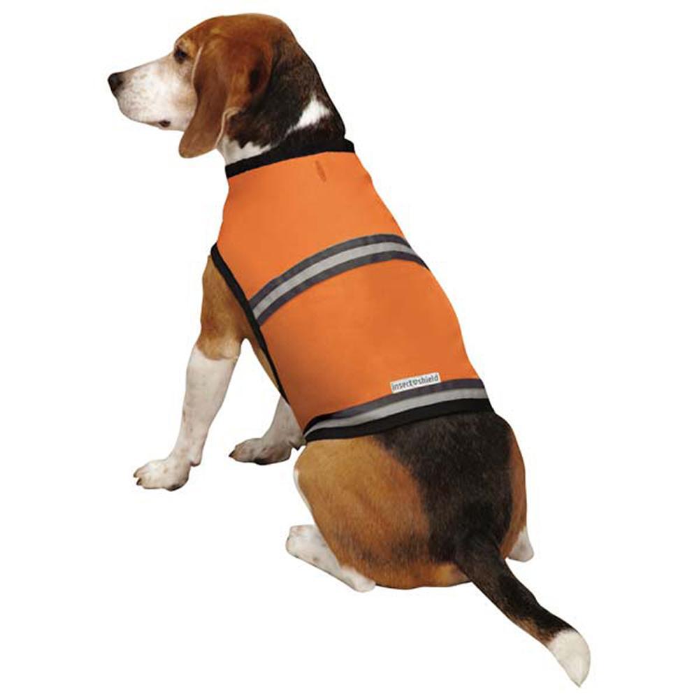 IS Protective Vest Orange LG