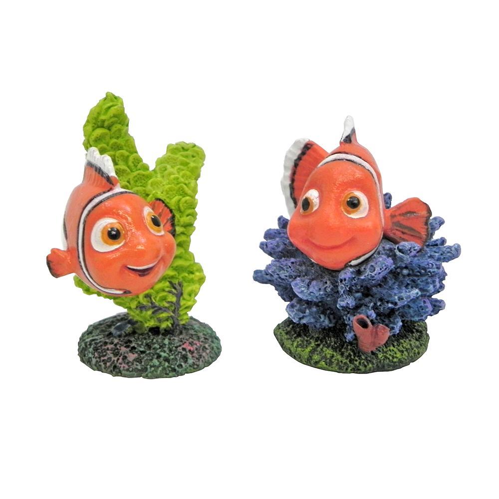 Disney finding nemo small nemo assorted aquarium ornament - Aquarium nemo ...