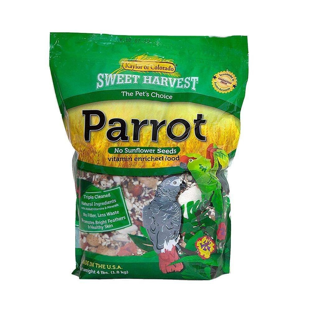 Sw Harvest Parrot NO Sunflower 4 lb