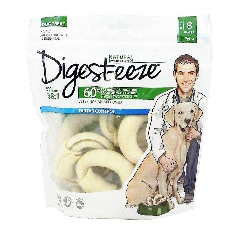 Digest-eeze Thin Rings 8 inch 8 pack