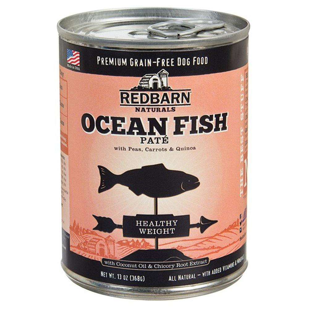 Redbarn Dog Ocean Fish 13oz case