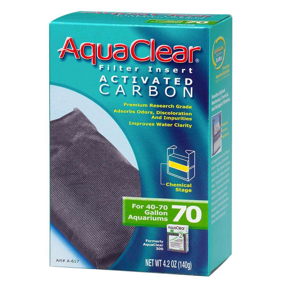 AquaClear 70 Activated Carbon Aquarium Filter Insert