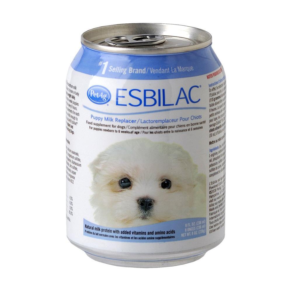 Pet Ag Esbilac Liquid Milk Replacer for Puppies 8 ounce