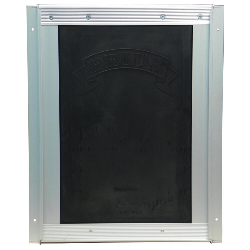 Pride Anodized Silver Pet Door Medium MD400