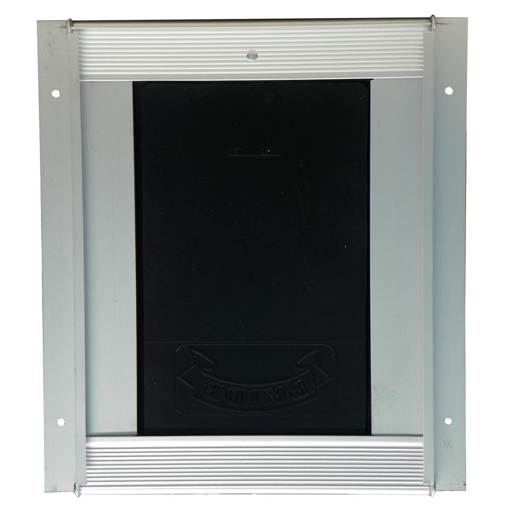 Pride Anodized Silver Pet Door Small SD300