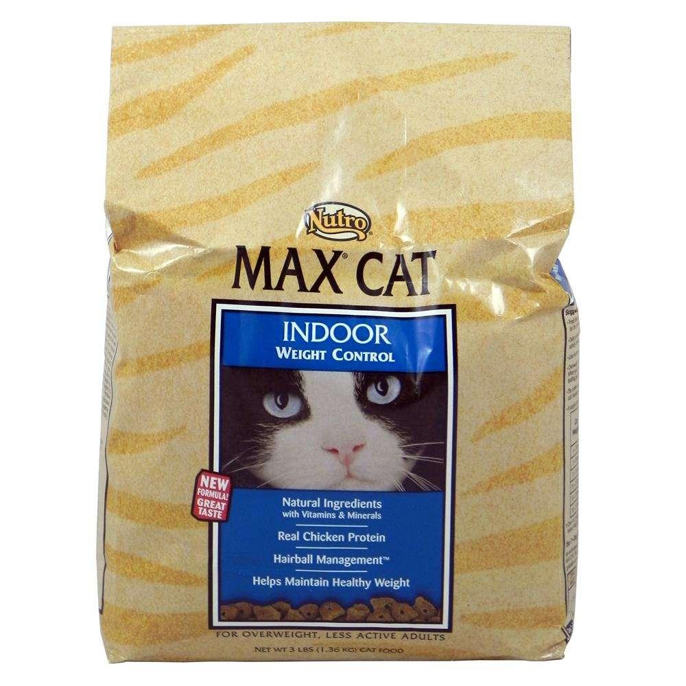 Nutro Max Cat Food Indoor Weight 3 pound