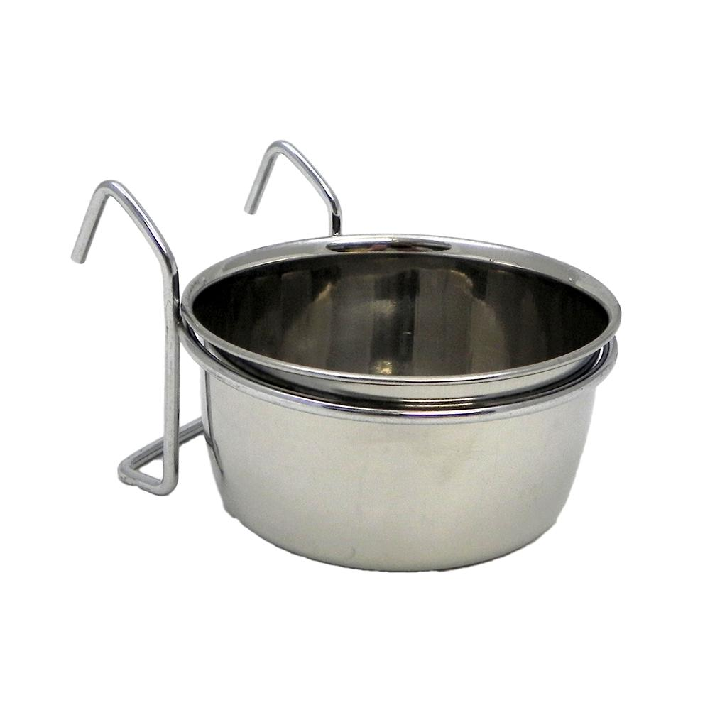 Stainless Bird Dish w/wire 20 ounce