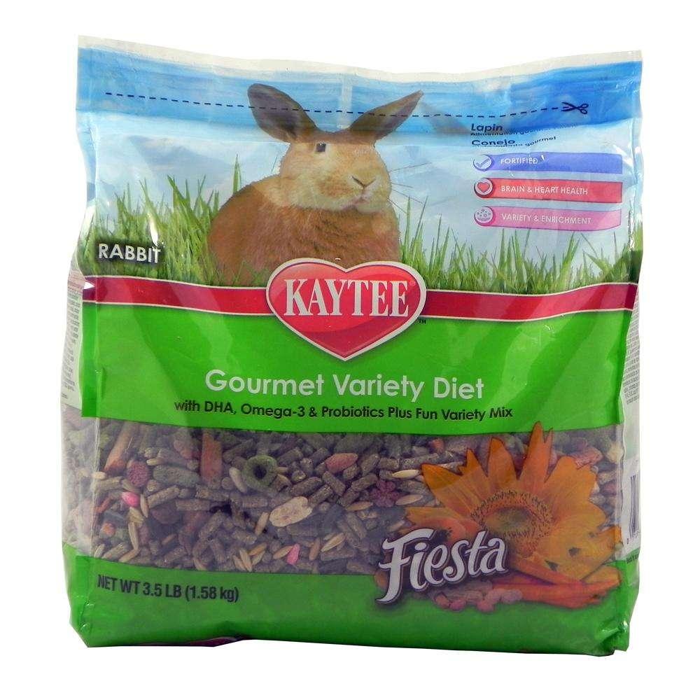 Kaytee Fiesta Rabbit Food Mix 3.5 pound