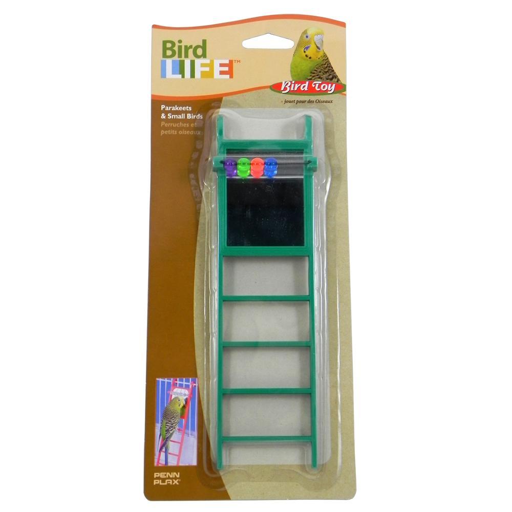 Penn Plax Ladder w/Mirror Bird Toy