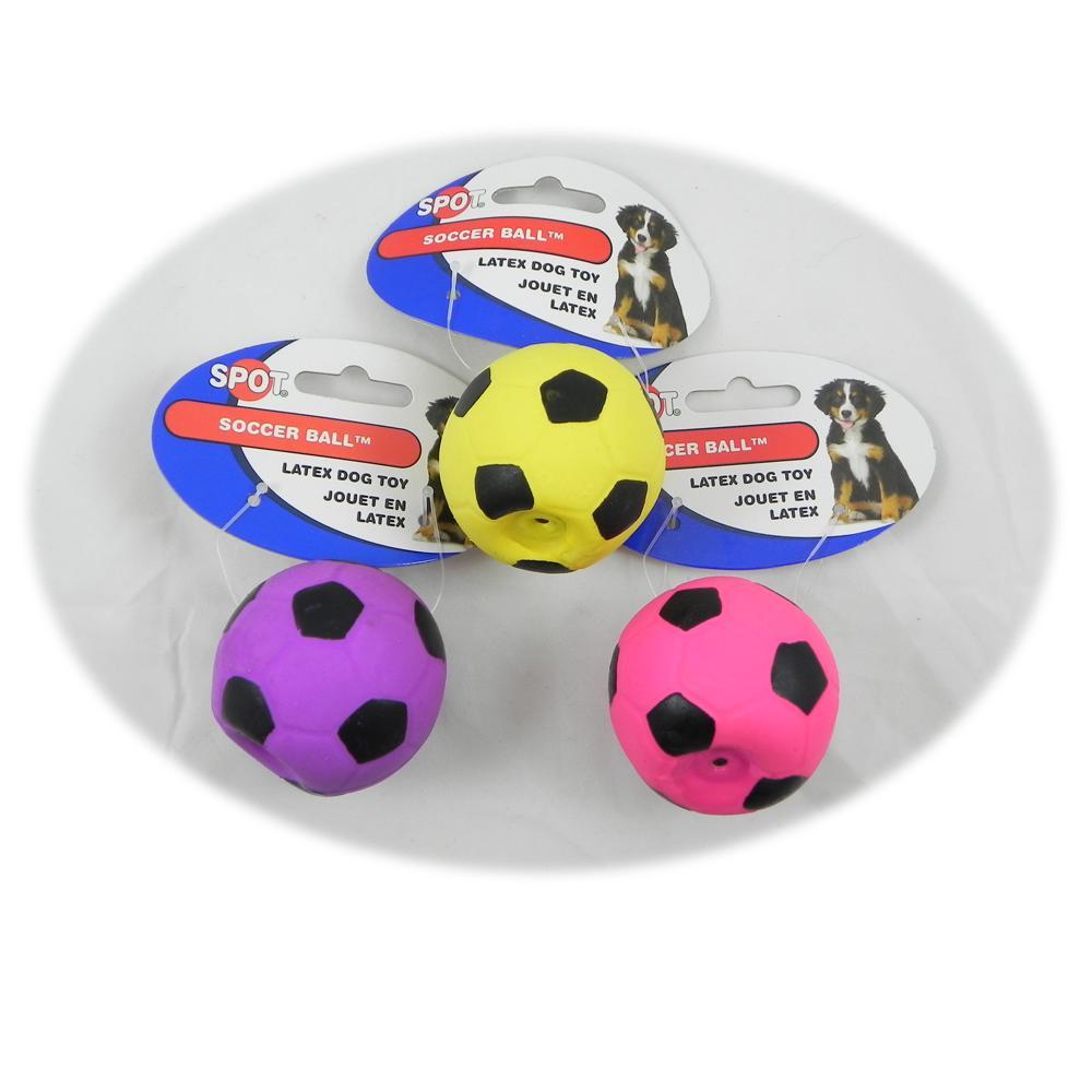 Latex Soccer Ball Dog Toy 2 inch