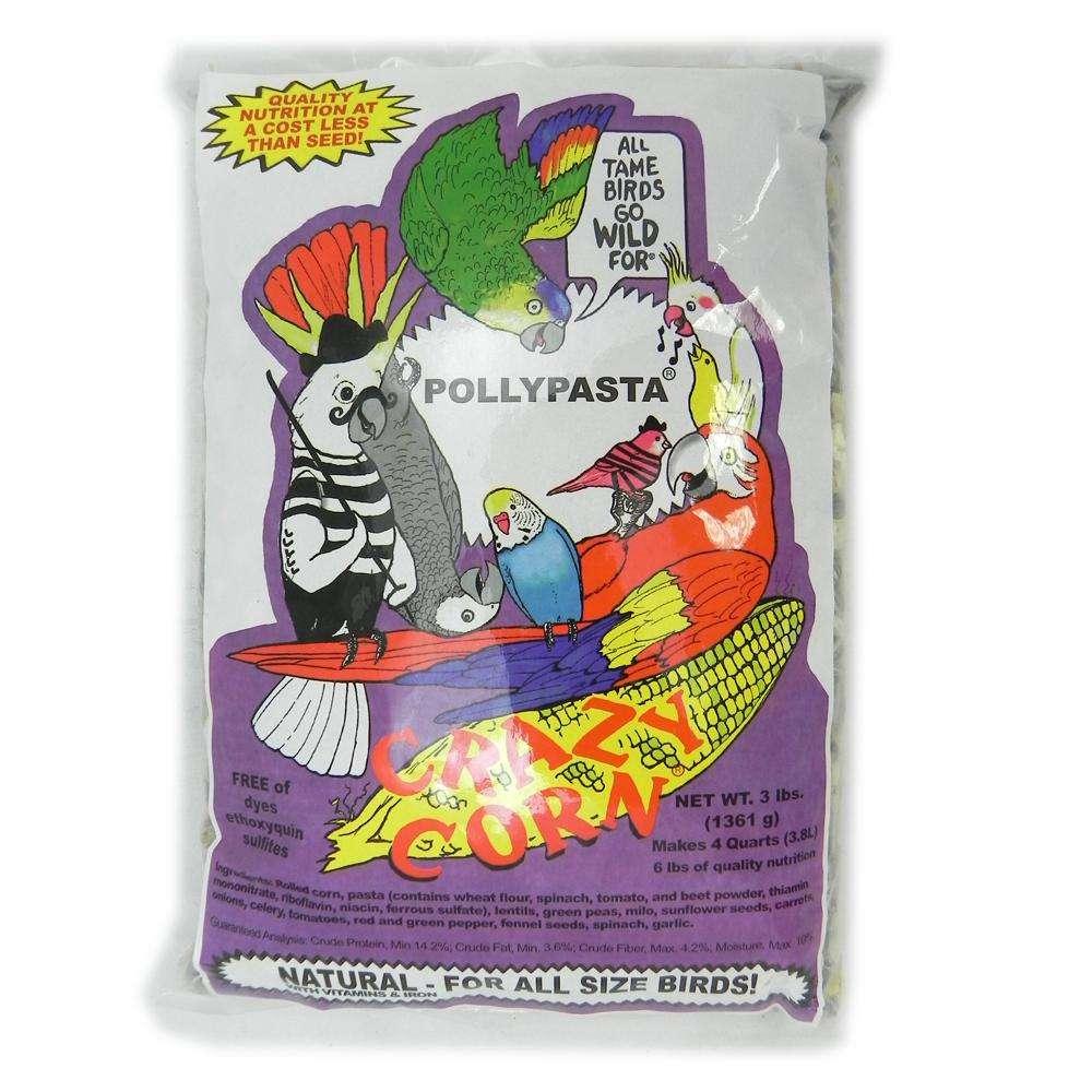 Crazy Corn Pollypasta 3 pound Bird Food