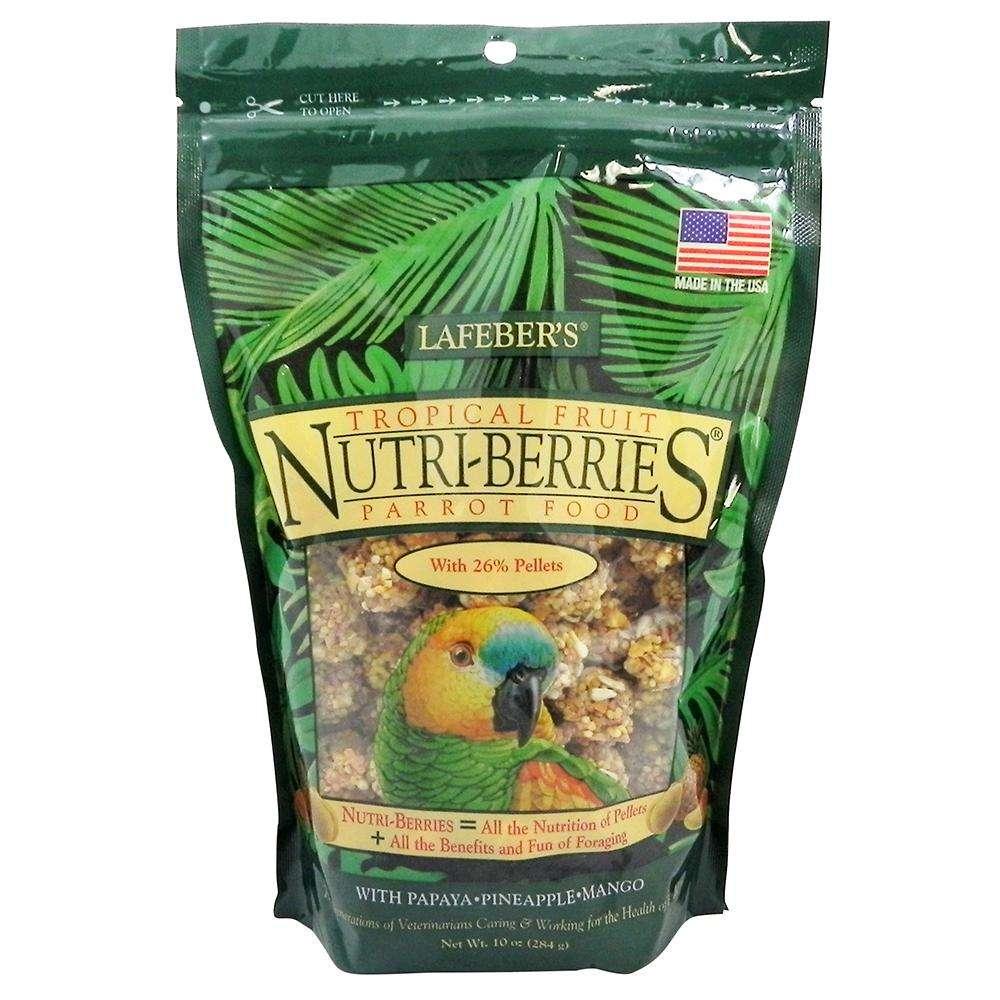 Lafeber Gourmet Nutri-Berries Tropical Fruit Parrot Food
