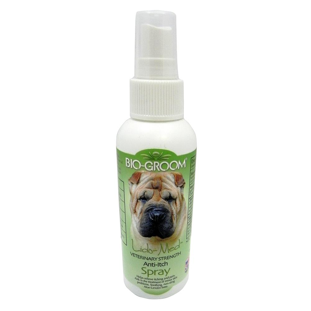 Bio-Groom Lido-Med Anti-Itch Spray for Dogs and Cats
