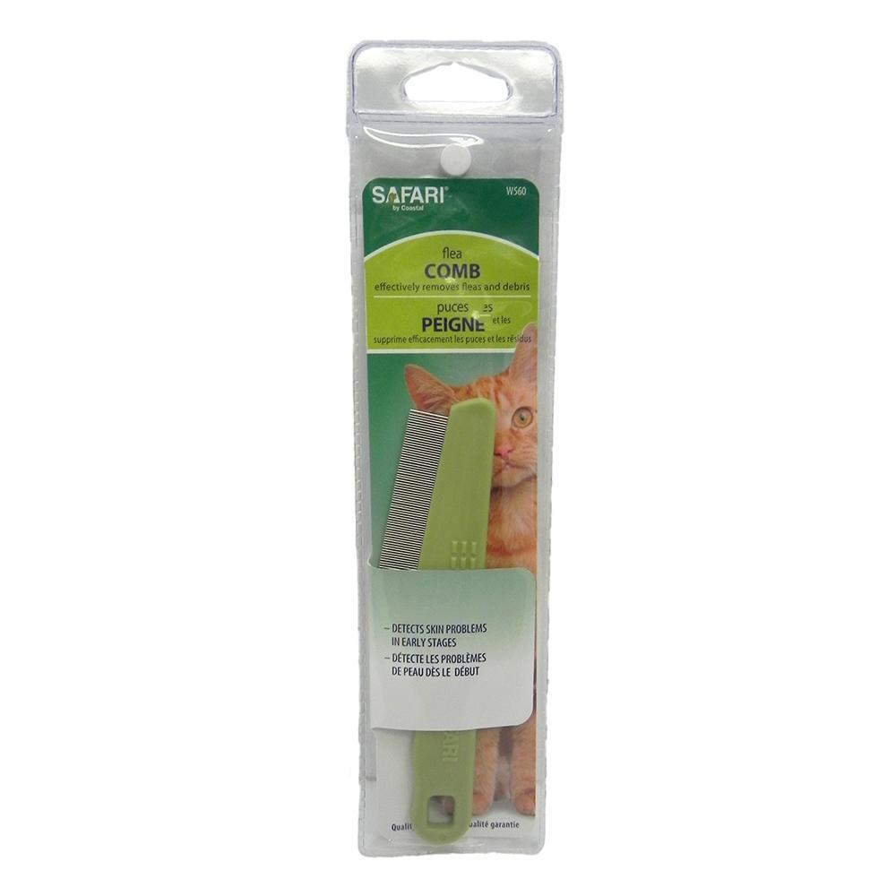 Flea Comb with Plastic Handle