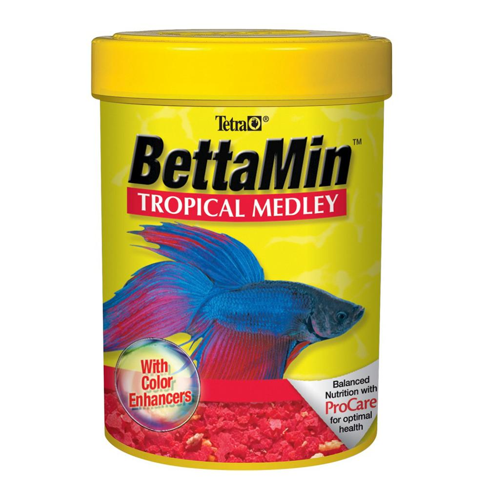 Tetra bettamin fish food for bettas aquar food betta at for Food for betta fish