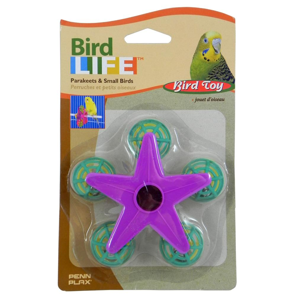 Penn Plax Star Wheel Bird Toy