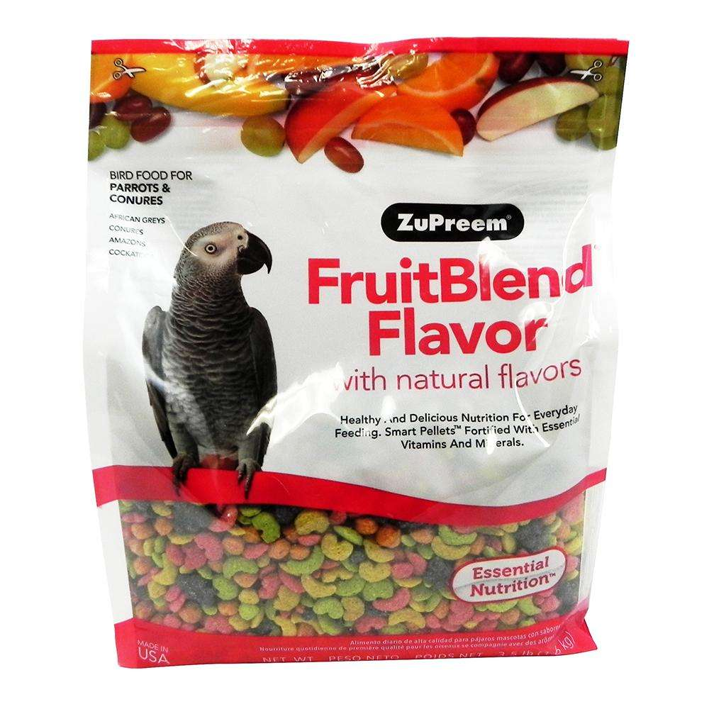 ZuPreem Fruit Blend Parrot Food 3.5 pound