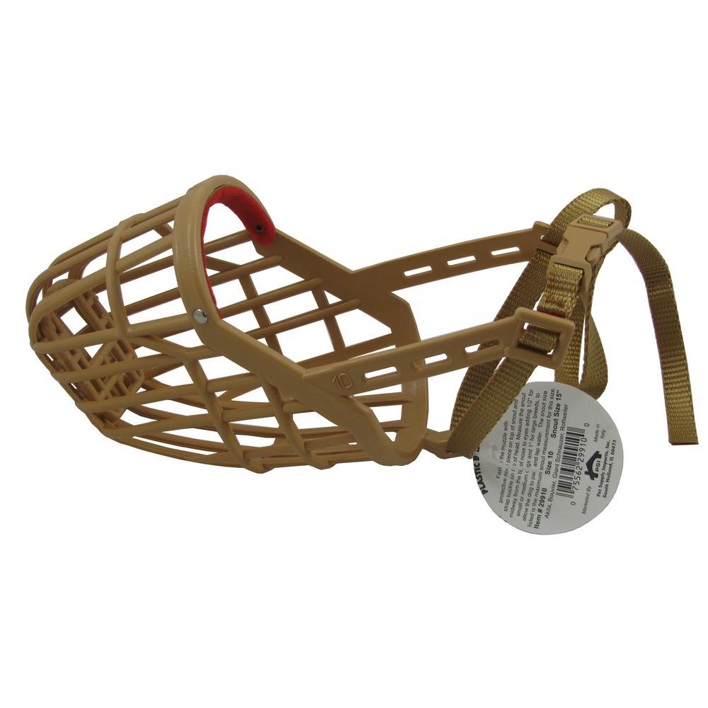 Dog Muzzle, Flexible Basket Size 10
