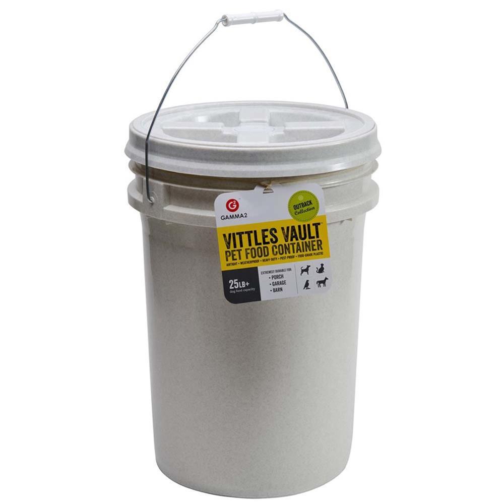 Gamma Vittles Vault 25 pound Pet Food Storage Container