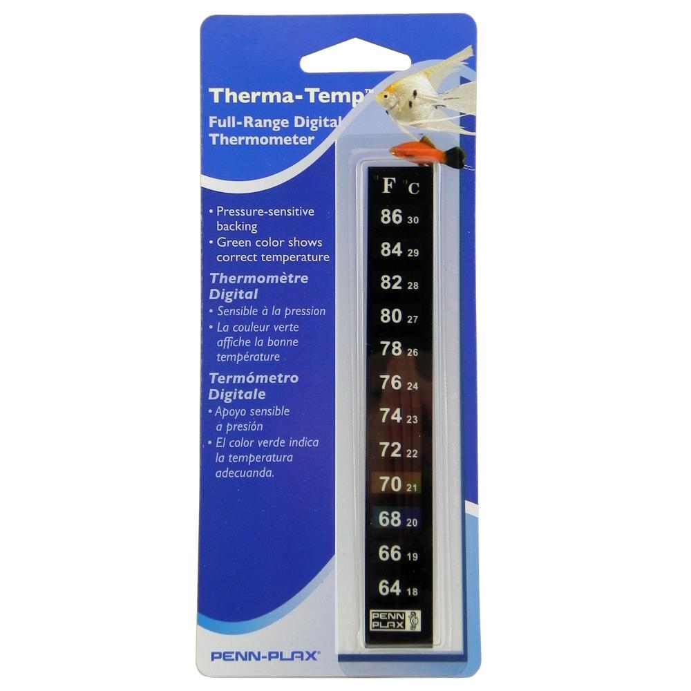 how to read floating aquarium thermometer