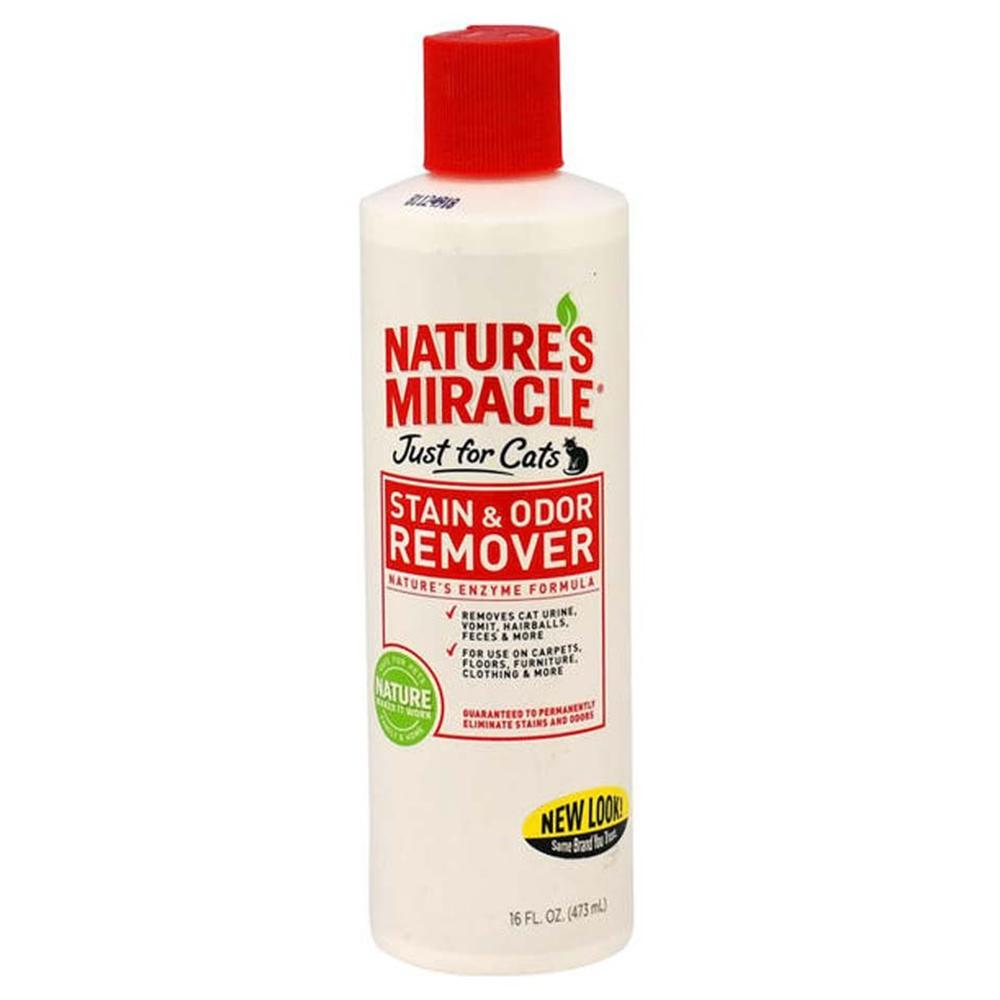 Natures Miracle For Cats 16 ounce Stain and Odor Remover
