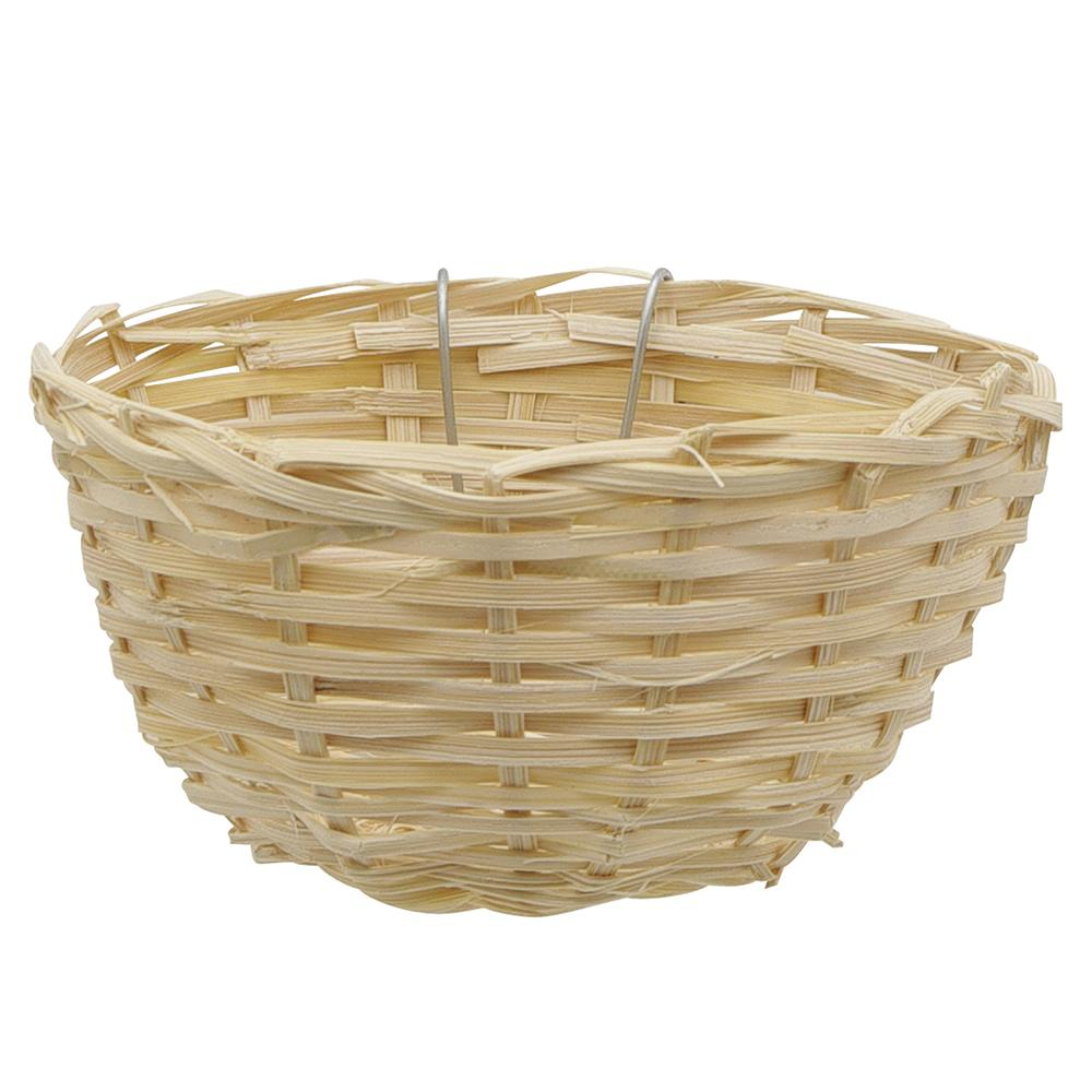 Wicker Nest Open for Canaries