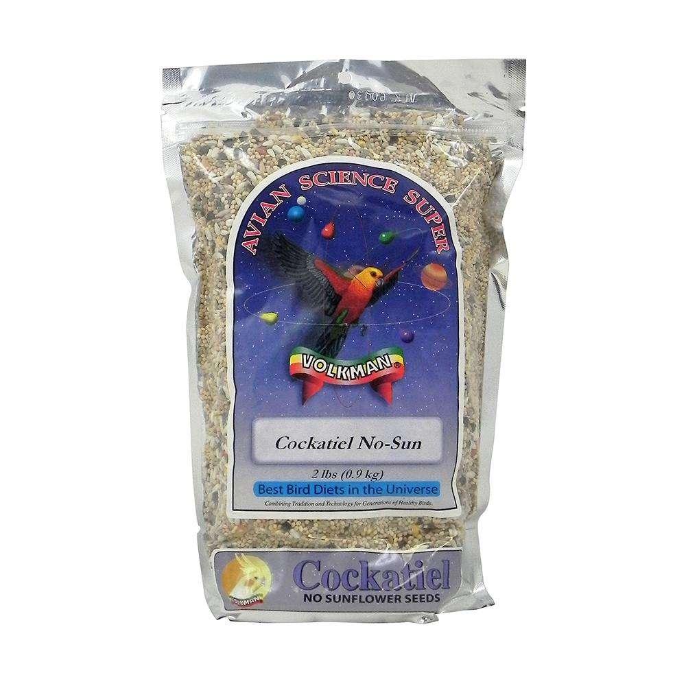 Avian Science Super Cockatiel NO Sun 2 pound Bird Seed