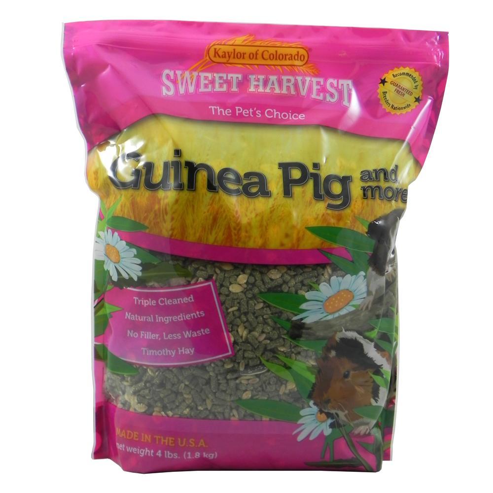 Sweet Harvest Guinea Pig and More Guinea Pig Food 4Lb.