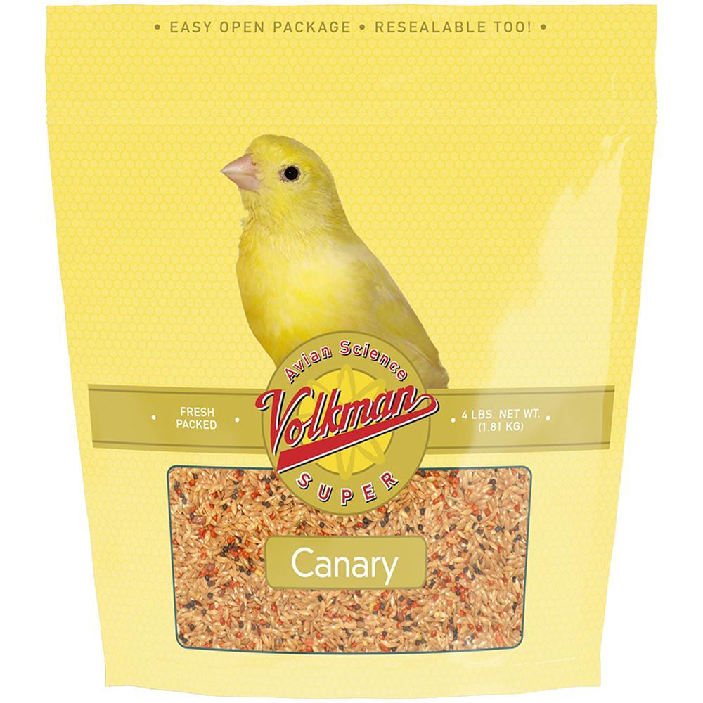 Volkman Avian Science Super Canary 4 pound Bird Seed