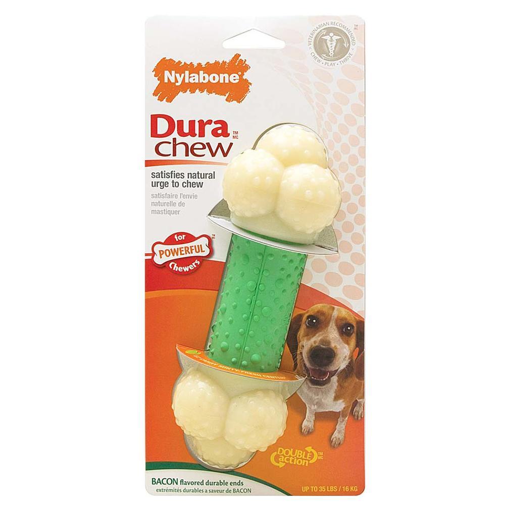 Nylabone Double Chew Wolf-Size Dog Chew Toy