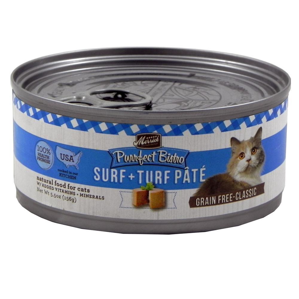 Merrick Surf N Turf Cat Food 5.5 ounce Case