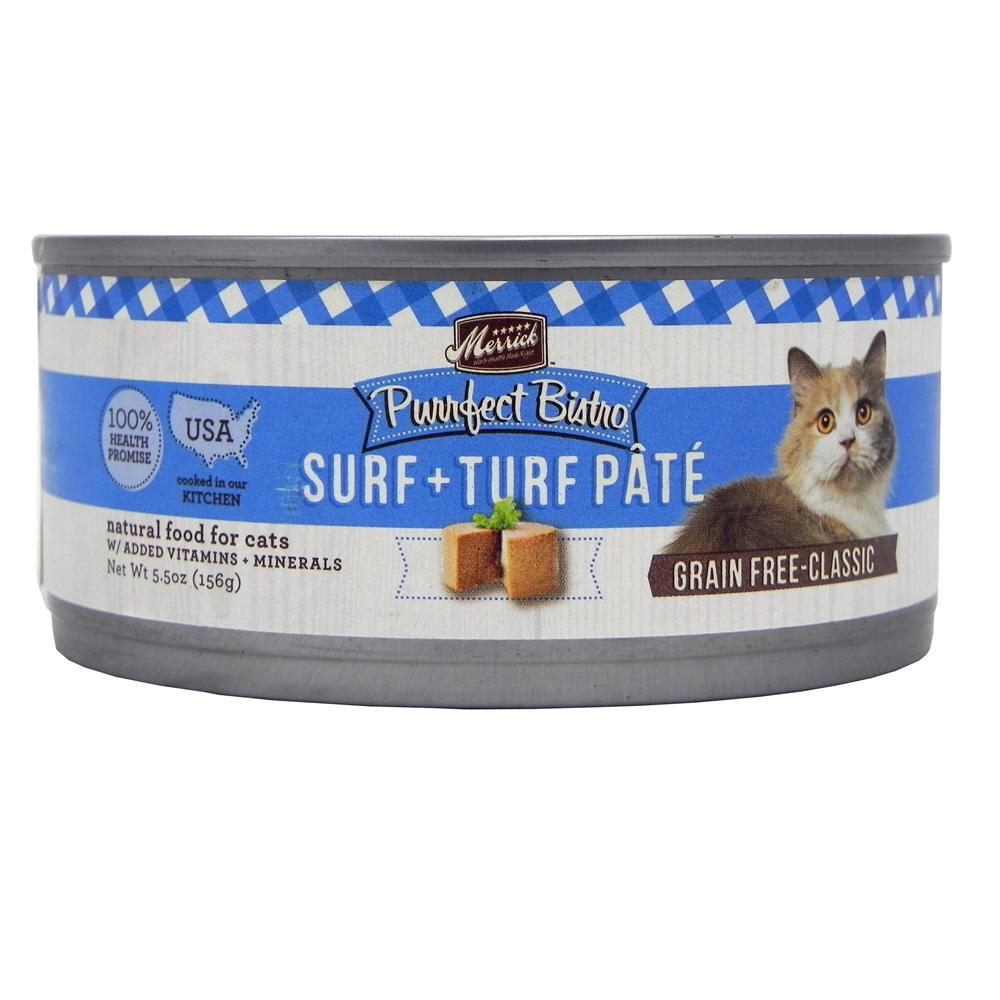 Merrick Surf N Turf Cat Food 5.50 ounce each