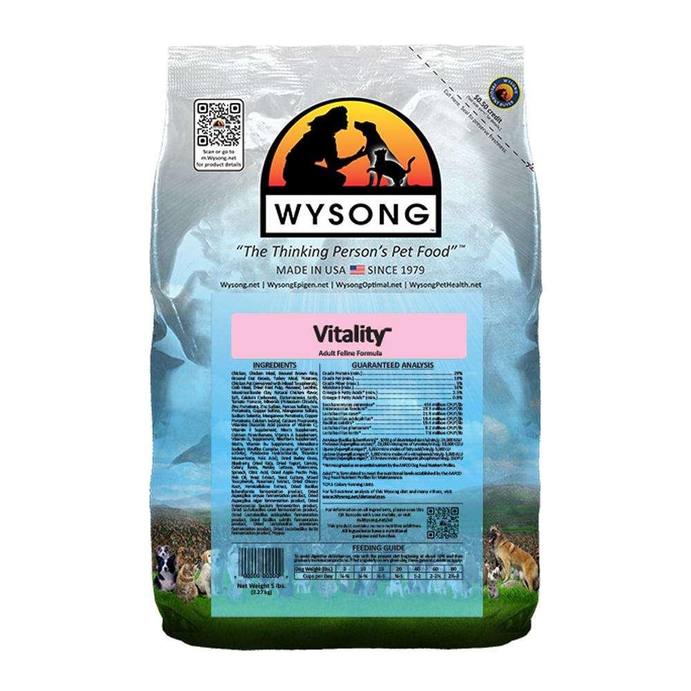 Wysong Feline Vitality Cat Food 5 lb