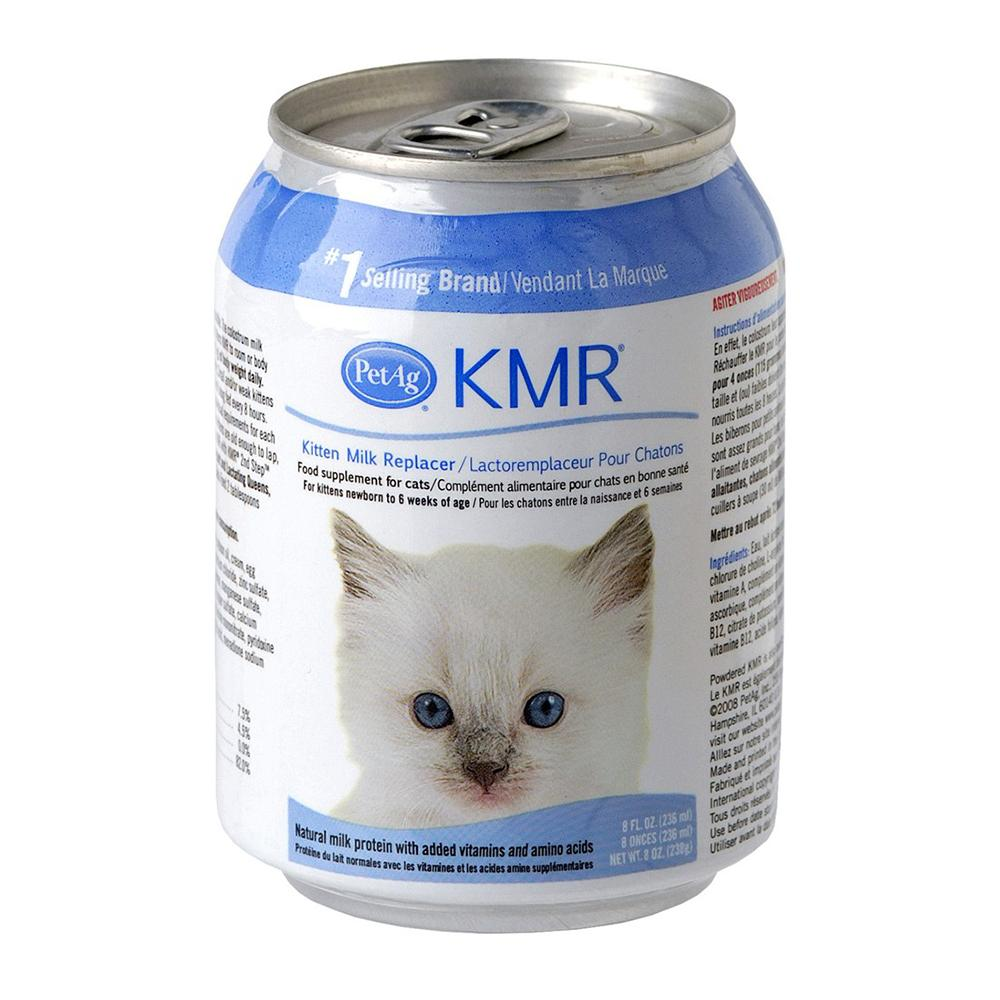 Pet Ag KMR 8 ounce liquid Milk Replacer for Kittens