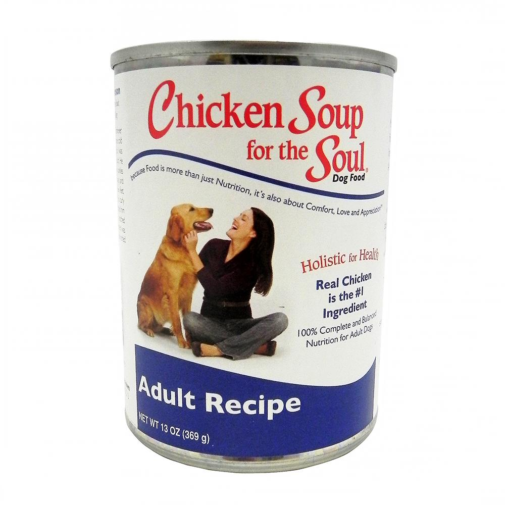 Chicken Soup for the Dog Lovers Soul 12 Cans Case