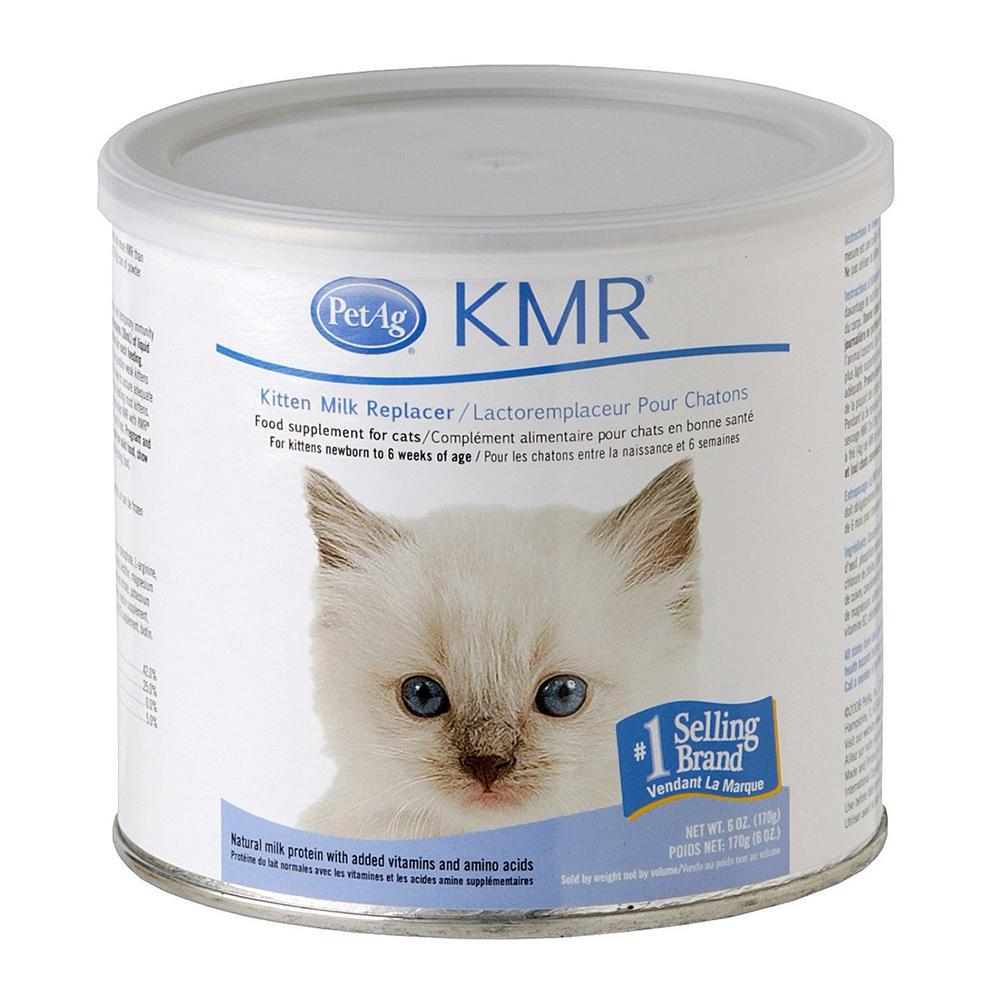 Pet Ag KMR Powder 6 ounce Milk Replacer for Kittens