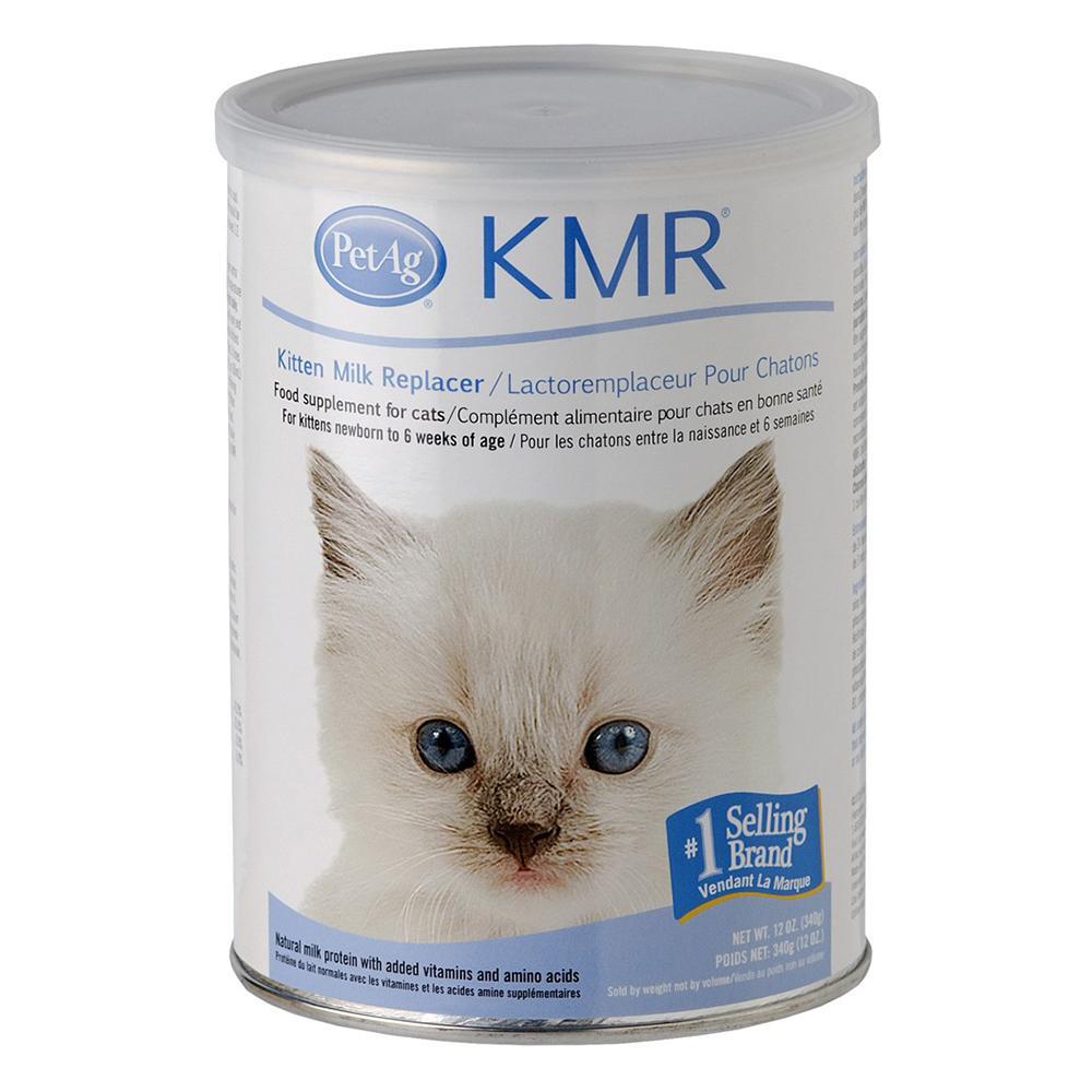 Pet Ag KMR Powder 12 ounce Milk Replacer for Kittens